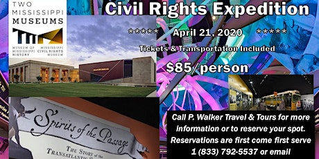 Civil Rights Jackson Tour - April 2020 tickets