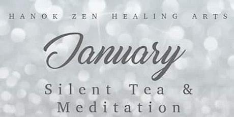 January Silent Tea and Meditation tickets