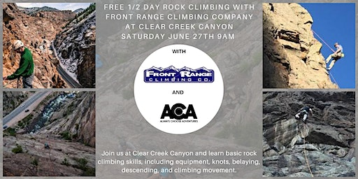 Garden of the Gods FREE 1/2 Day Rock Climbing with Always Choose Adventures
