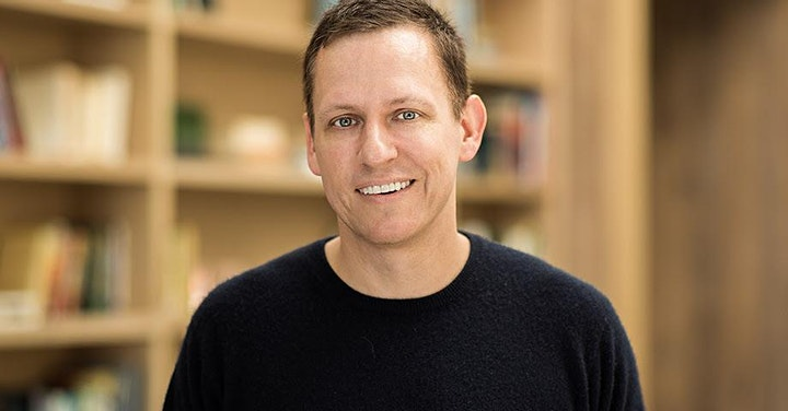 Eric Metaxas Interviews Peter Thiel at Socrates in the City image