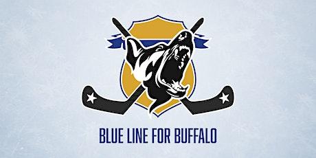 Blue Line for Buffalo tickets