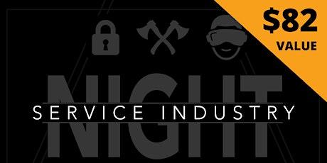 Service Industry Night tickets
