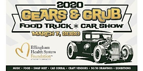 Gears and Grub-Car Show hosted by Effingham Health System tickets