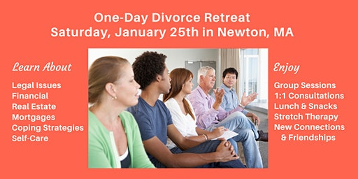 One-Day Divorce Retreat - Newton, MA
