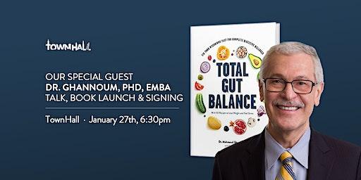 Dr. Ghannoum Talk, Book Launch +  Signing