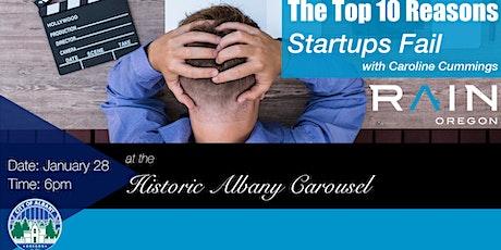 The Top Ten Reasons Startups Fail tickets