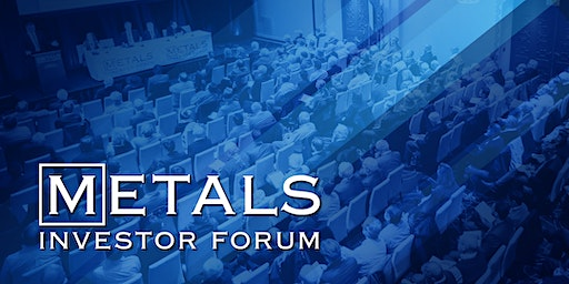 Metals Investor Forum: 11 - 12  September, 2020