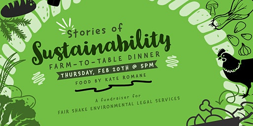Stories of Sustainability Farm-to-Table Dinner