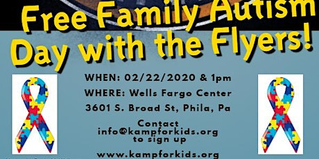 Free Family Autism Day with the Flyers tickets