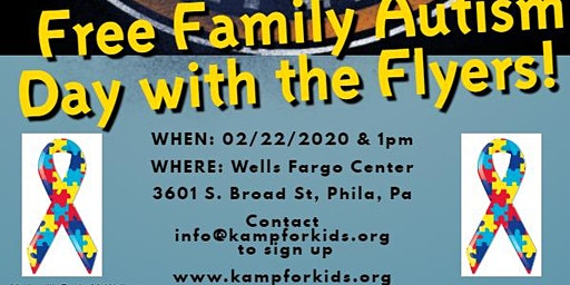 Free Family Autism Day with the Flyers