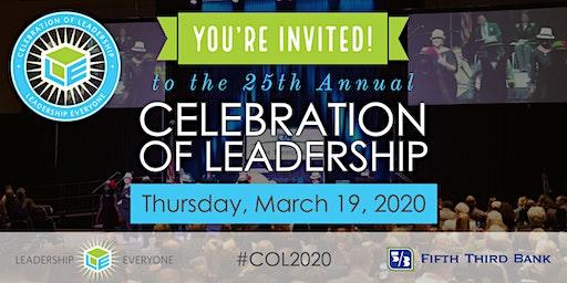 25th Annual Celebration of Leadership