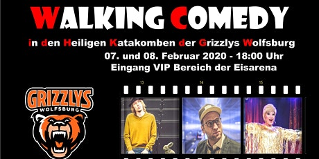 Walking Comedy in den heiligen Katakomben der Grizzlys Wolfsburg Tickets