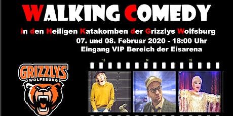 Walking Comedy in den heiligen Katakomben der Grizzlys Wolfsburg Tickets
