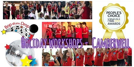 Bop till you Drop CAMBERWELL Easter School Holiday Performing Arts Workshop (2 days) BOOK EARLY AND SAVE! tickets