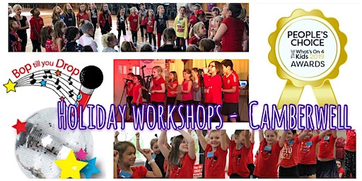 Bop till you Drop CAMBERWELL Easter School Holiday Performing Arts Workshop (2 days) BOOK EARLY AND SAVE!