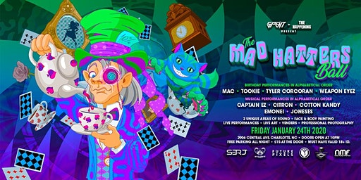 SPENT + The Happening | Mad Hatters Ball 2020