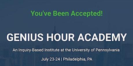 Genius Hour Academy: Inquiry-Based Institute tickets