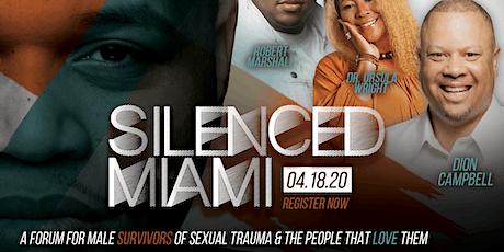 Silenced Miami: Male Survivors of Sexual Trauma tickets