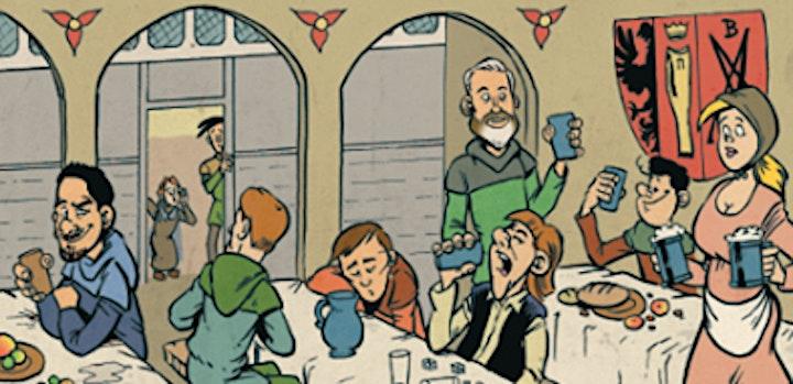 Afbeelding van Bergenvaarders: Een humoristisch historisch stripboek.
