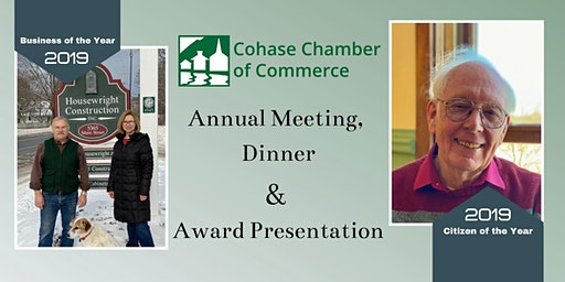 Cohase Chamber of Commerce Annual Meeting and Dinner