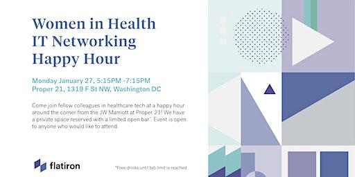 Women in Health IT Networking Happy Hour