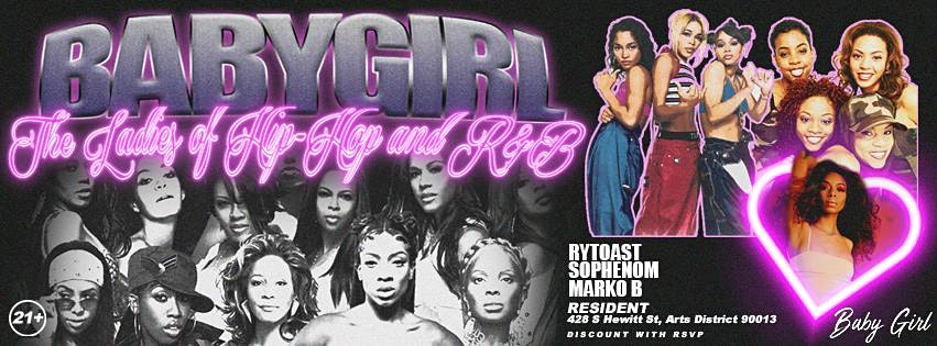 Baby Girl -The Ladies of Hip Hop and R&B