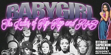 Baby Girl -The Ladies of Hip Hop and R&B tickets