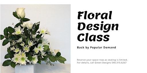 Fresh Floral Design Class