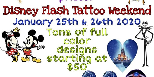 Disney Tattoo Party
