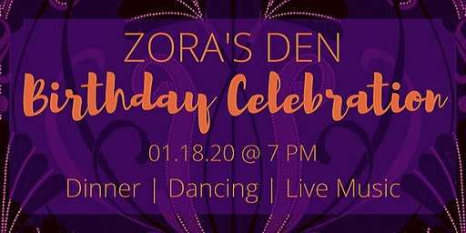 Zora's Den Birthday Celebration