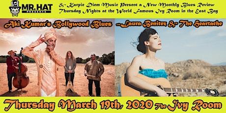 Aki Kumar's Bollywood Blues Band + Laura Benitez & The Heartache tickets