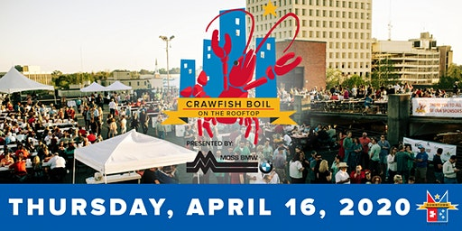 Downtown Crawfish Boil on the Rooftop