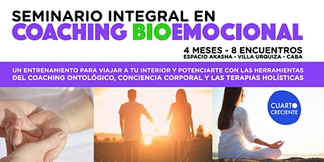Seminario integral en Coaching BioEmocional entradas