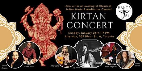 Manta Jae - Kirtan & Indian Classical Music Concert tickets