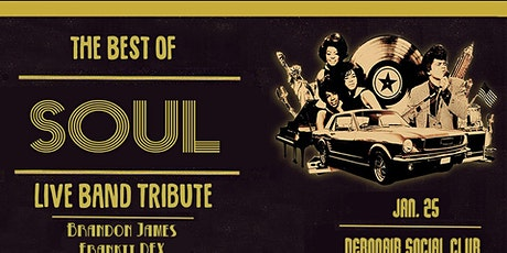 The Best of Soul: Live Band Tribute @ Debonair Social Club tickets