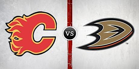Anaheim Ducks vs. Calgary Flames with Stanbridge Alumni Association tickets
