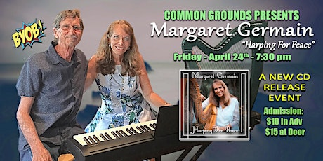 Margaret Germain: Harping For Peace tickets