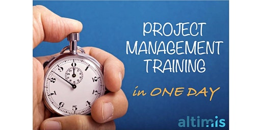Project Management Training - 10 & 17 March 2020 - Brussels