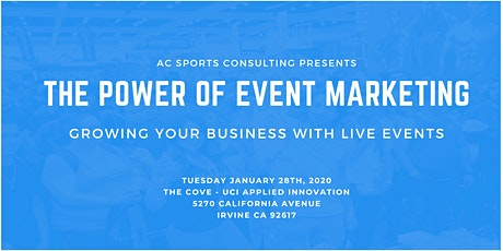 The Power of Event Marketing: Growing Your Business With Live Events tickets