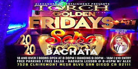 TORCH San Diego Golden Salsa Bachata Fridays tickets