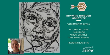 Drawing Through Monotype Printing with Maritza Davila - Powered by Arrow tickets