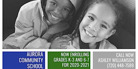Aurora Community School Enrollment Tours tickets