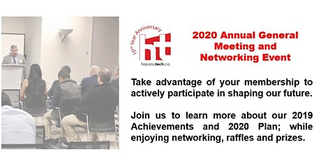 2020 Annual General Meeting & Networking Event tickets