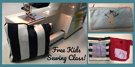 Beginner Sewing Class for Kids - Free! tickets