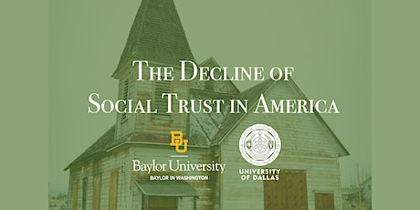 The Decline of Social Trust in America tickets