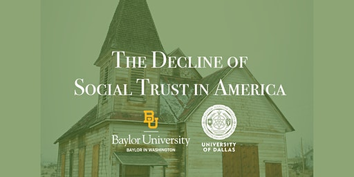 The Decline of Social Trust in America