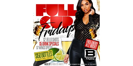 FULL CUP FRIDAYS tickets