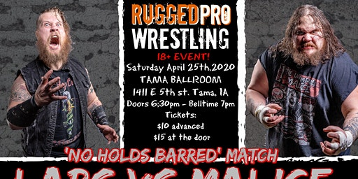 Live Pro Wrestling! 18+ entertainment!