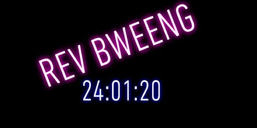 Rev Bweeng 2020 UV Glow Disco