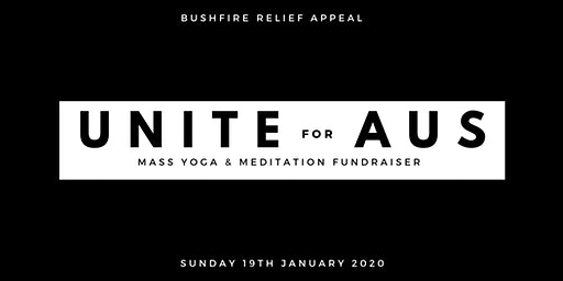 UNITE FOR AUS - Bushfire Appeal Fundraiser Event